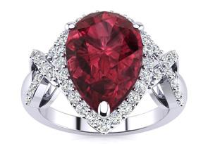 Garnet Rings Super Jeweler