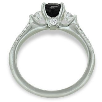 Ritani 1.35ct Diamond Engagement Ring in Platinum, H-I, SI1-SI2