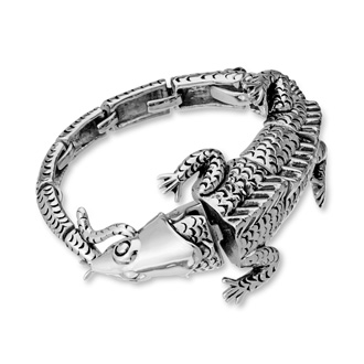 Men's Reptile Bracelet. The Coolest Bracelet You Have Ever Seen