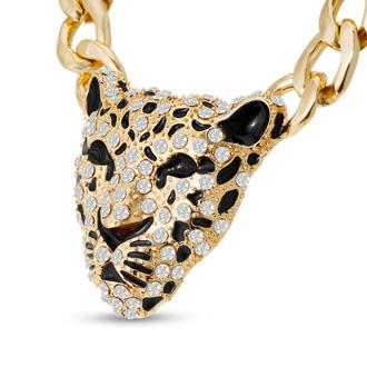 Swarovski Elements Tiger Statement Necklace, 22 Inches