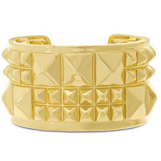 Gold Spike Cuff