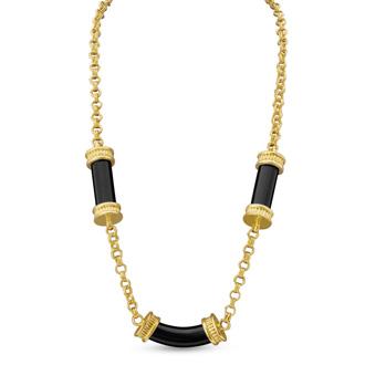 Emerald Pillar Necklace