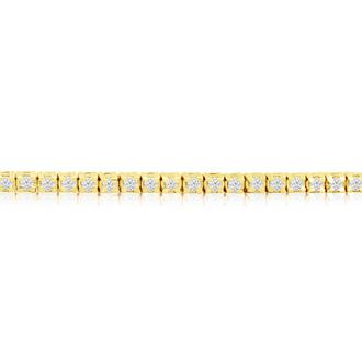 6-inch 1.70ct Diamond Tennis Bracelet in 14k Yellow Gold