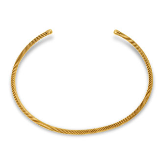 Ropework Collar Necklace