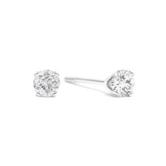 1/4ct Diamond Studs in White Gold
