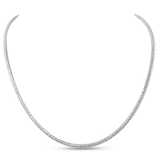 Ladies Stainless Steel 18 Inch Cascade Chain
