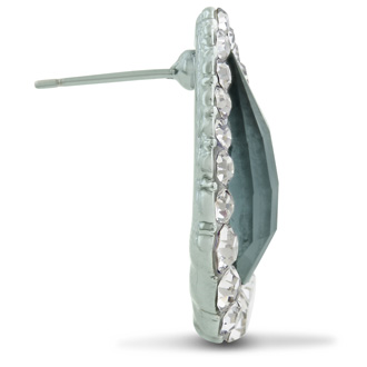 Swarovski Elements Crystal Pear Earrings