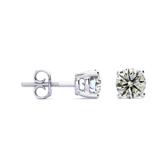 AMAZING PRICE >> LIMITED SUPPLY! 1½ Carat Diamond Stud Earrings. They Are Just Phenomenal For The Money!