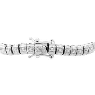 1/2ct Vintage Diamond Tennis Bracelet