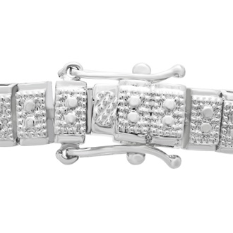 1ct Two Row Diamond Bracelet. Popular Model
