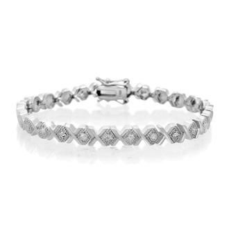 Art Deco Style Diamond Bracelet