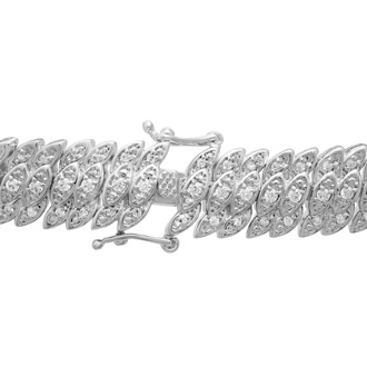 2ct Diamond Petal Bracelet