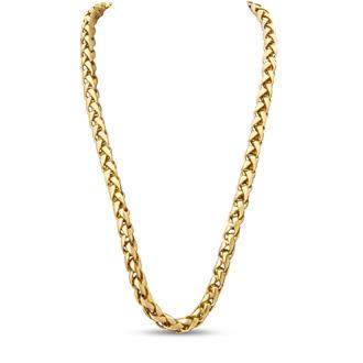 Vintage Link Necklace