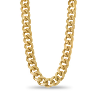Antique Gold Chain Necklace