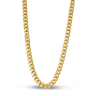 Gold Classic Link Necklace