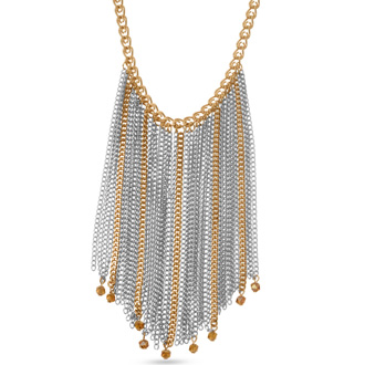 Two Tone Strand Necklace