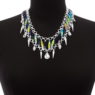 Midnight Single Strand Necklace