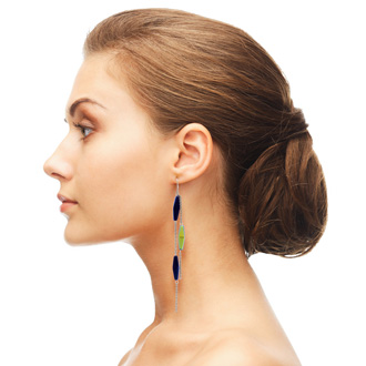 Midnight Strand Earrings