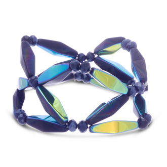 Midnight Geometric Bracelet