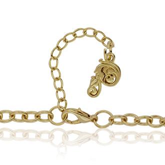 Gold Teardrop Bib Necklace