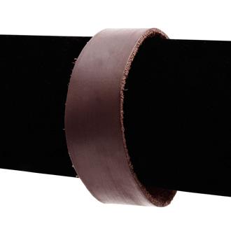 Brown Vegan Leather Cuff Bracelet
