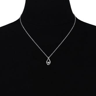 Shimmering Stars Diamond Drop Necklace
