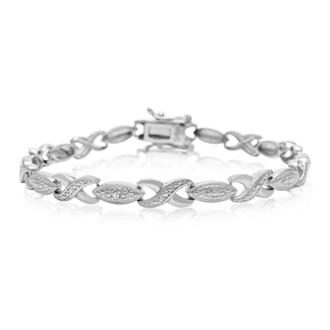 Diamond Swirl Bracelet