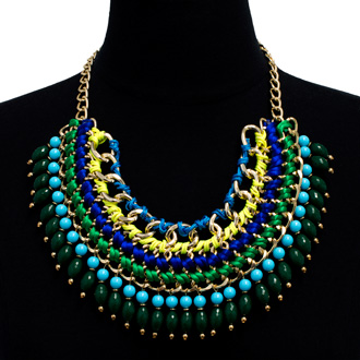 Fresh Chain Statement Necklace