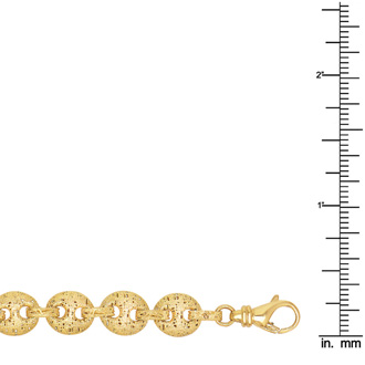 14k Yellow Gold Mariner Link Bracelet, 7 1/2 Inches