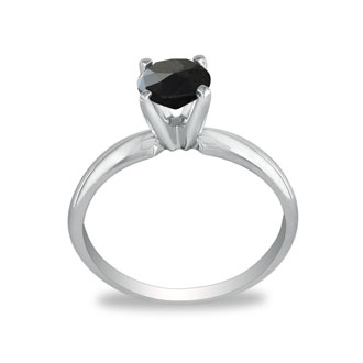 Solitaire Ring Setting in White Gold (IN ADDITION TO DIAMOND PRICE)
