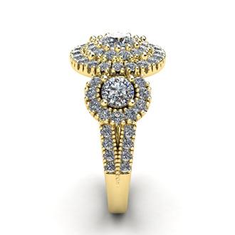 La Gigante! The Hugest Ladies 2 Carat Engagement Ring In SuperJeweler History!