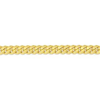 14 Karat Yellow Gold 7.80mm 22 Inch Light Miami Cuban Chain