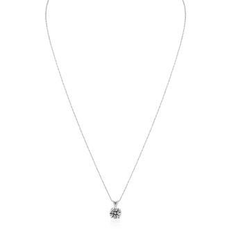 1CT DIAMOND BLOWOUT! 1ct Diamond Pendant in 14k White Gold. UNHEARD OF PRICE!
