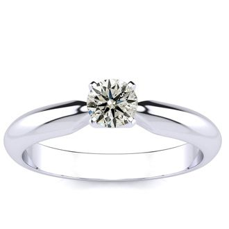 1/4ct Diamond Engagement Ring in White Gold, INCREDIBLE VALUE!