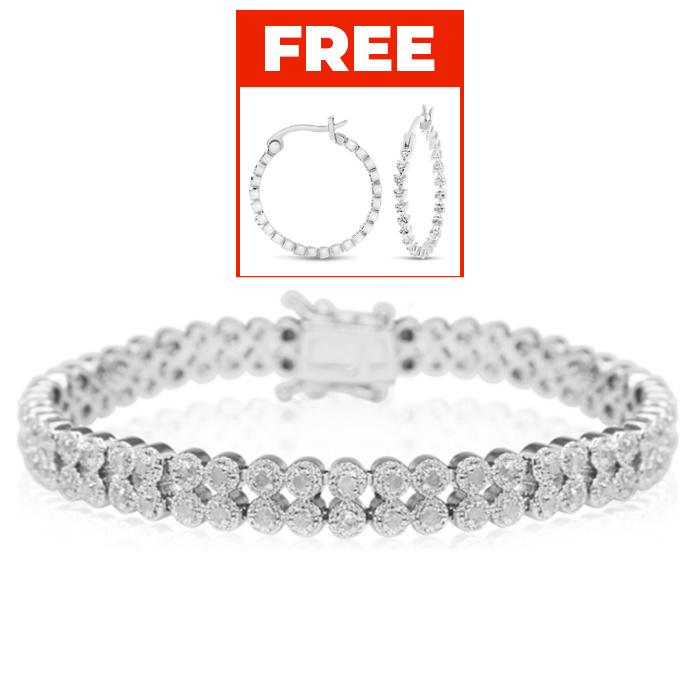 1 Carat Natural Rose Cut Diamond Antique Milgrain Antique Model Bracelet. One Of Our Most Popular Milgrain Styles!