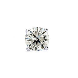 1/4ct Single Diamond Stud in 14k White Gold