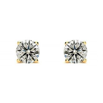 1/3ct Diamond Studs in 14k Yellow Gold