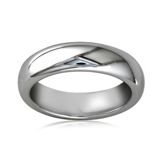 5mm Comfort Fit Tungsten Wedding Band