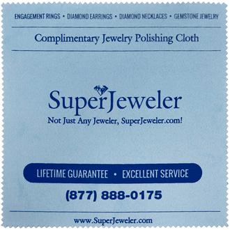 SuperJeweler Jewelry Polishing Cloth