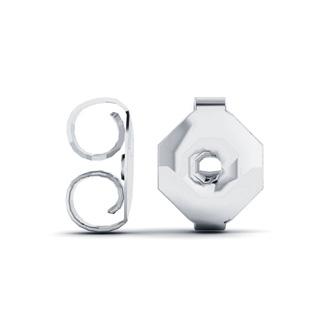 Diamond Accent Snowflake Stud Earrings