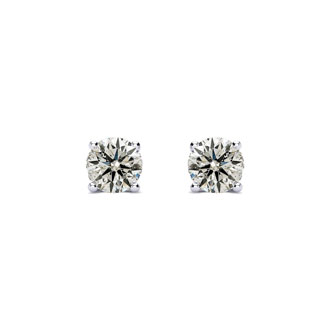 INCREDIBLE DEAL AND VERY LIMITED SUPPLY! Nearly 1/4 Carat E-F Color, Colorless Diamond Stud Earrings. Seriously Amazing Value!