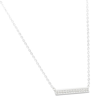 0.13 Carat Diamond Bar Necklace, 17 Inches. Really Beautiful Brand New Style, Fantastic Price!