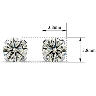 Nearly 1/4ct Diamond Stud Earrings. WANT DIAMOND EARRINGS? THIS IS A TRULY AMAZING DEAL!  DON'T WAIT! <<Save $92 with code PRIME3>>