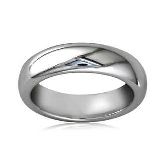 5mm Comfort Fit Titanium Wedding Band, Sizes  to 3.5-13.5, Personalize for Free.