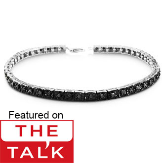 Tennis Bracelet Diamond 1 Carat Black Best Jewelry Deals