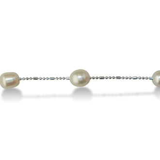 Pearls by the Yard Necklace