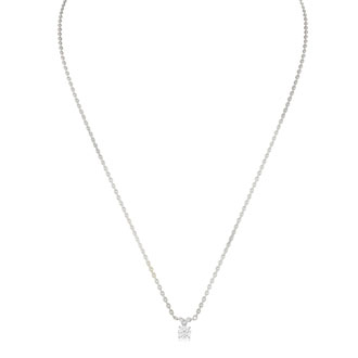 Our #1 Diamond Necklace! 1/4ct Diamond Necklace in White Gold