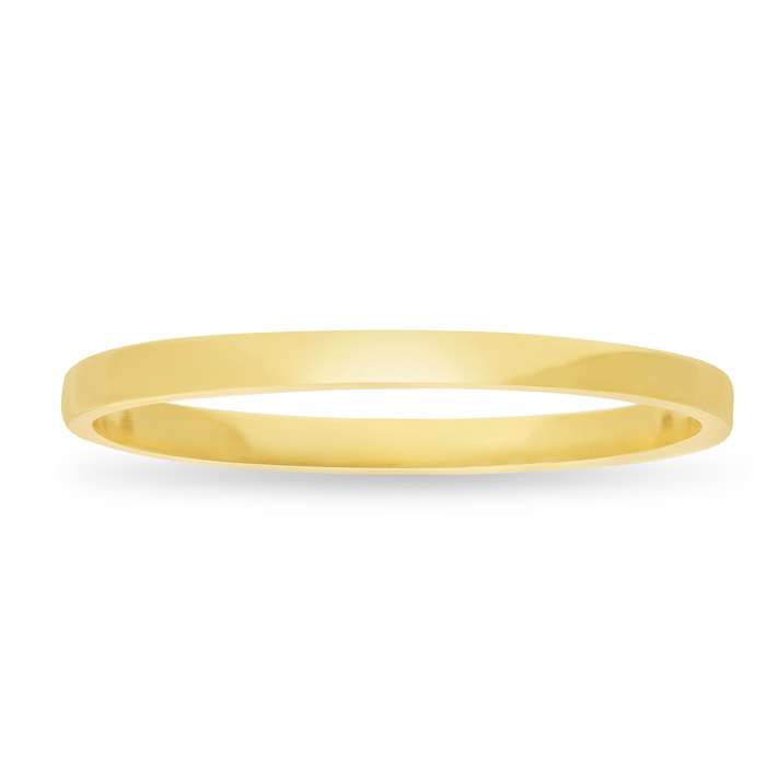 Image of Gold Knuckle Ring Crafted In 14 Karat Yellow Gold Over Sterling Silver
