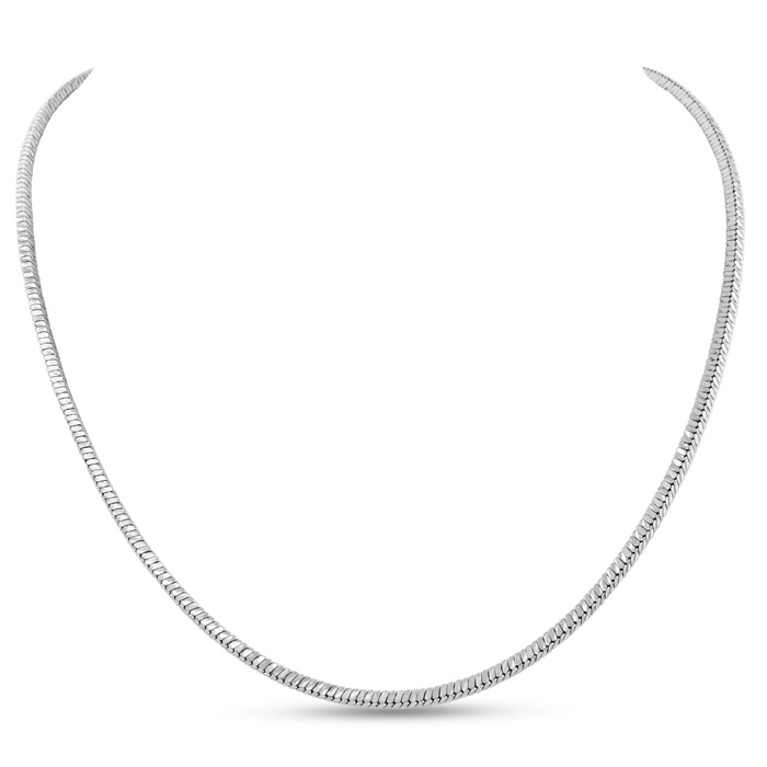 Ladies Stainless Steel 18 Inch Cascade Chain Necklace by SuperJeweler