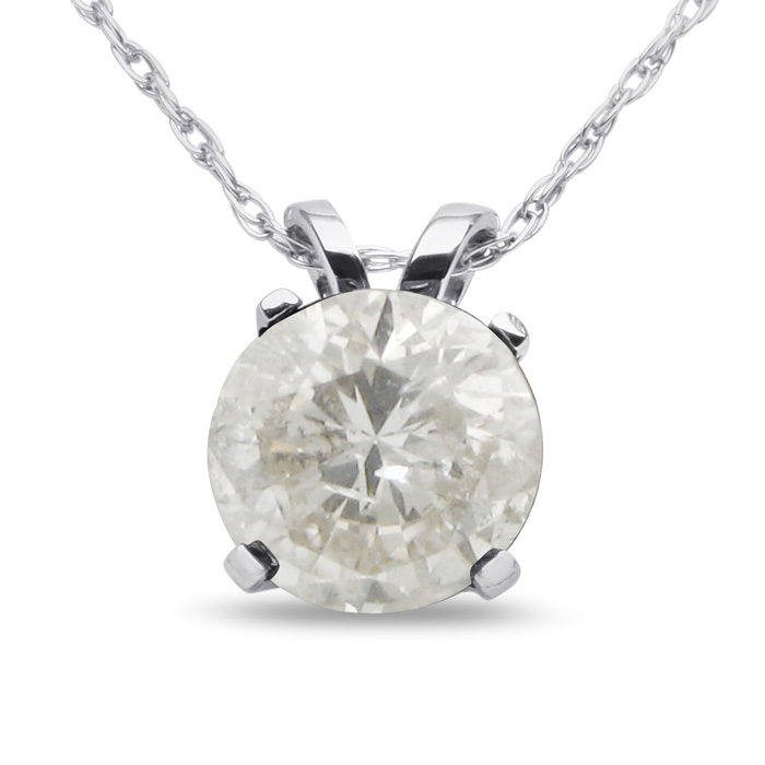 ct ice lm pin pendant necklace white tw solitaire gold diamond
